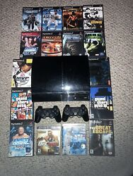 Playstation 3 Backwards Compatible Console Games And Controllers Bundle Package