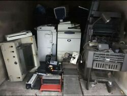 Professional Graphics And Printing Machines Xerox Ab Dicks Ideal And Many More