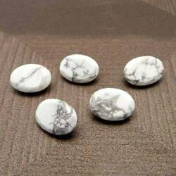 Aaa Quality Natural Loose Gemstones Howlite Oval Facted Cut 13x18mm To 16x32mm