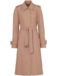 Ladies Belted Trench Coat Brand Size 6 Us Size 4