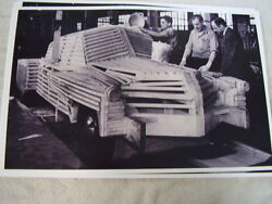 1948 Tucker First Design Mock Up Model 11 X 17 Photo Picture