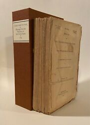 United States Congress House / Texas Constitution In Original State 1st Ed 1845