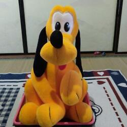 Walt Disney Tokyo Disneyland Pluto Plush Toy With Tagged Shipped From Japan