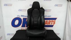 2017 Acura Nsx Driver Left Front Seat Assembly Bucket Black Leather Oem