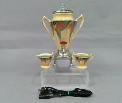 Antique 1928 Royal Rochester Fraunfelter Modernistic 2638 Coffee Service Set
