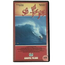 Shout For Joy Movie Vhs 1983 Based On True Story Of Rick Irons Surfer