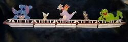 Disney Red Monorail Resort Transportation 5 Pin Limited Edition 1500