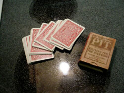 Vintage Pit Bull And Bear Edition Parker Brothers 1904 Card Game