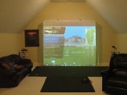 Ultimate Golf Impact Screen Frame 144 X 105 Home Theaterpoly Spacerskytrak