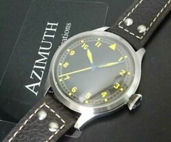 azimuth Bombardier V Al1bb5sb Men's Analog Watch With Box Shipped From Japan