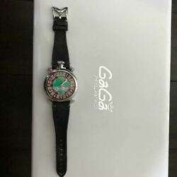 Gaga Milano Manuale 48 049/500 Limited Edition Swiss Made Men's Watch