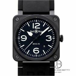 Bell And Ross Br03-92 Automatic Swiss Made Water Resistant Men's Watch