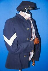 Rare Us Indian Wars 1874-1890s American Infantry Sergeant Tunic Jacket And Kepi