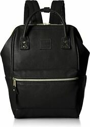 Anello Black Small Size Rucksack Laptop Backpack Synthetic Leather 180085 JP $109.87