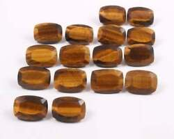 Tiger Eye Octagon Facted Cut Loose Gemstones 7x9mm To 13x18mm Size Aaa Quality