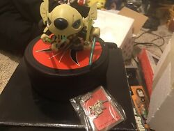 Art Of Disney Star Wars Weekend Stitch As Grievous Figure W/ Collectible Pin