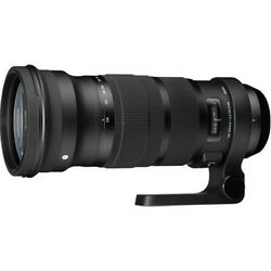 150-600mm 5-6.3 Sigma Sports Dg Hsm Os Zoom Lens Nikon New In Factory Box And Hood
