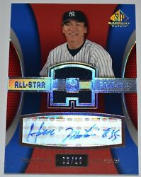2004 Sp Game Used Hideki Matsui All-star Patches Auto And Patch 2/10