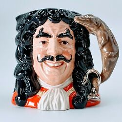 Royal DoultonD6947 Captain Hook1994Large - 7.5Toby Jug. Pre-owned. Rd6-10