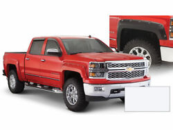Front And Rear Fender Flare For 2017-2019 Chevy Silverado 3500 Hd 2018 G117xn