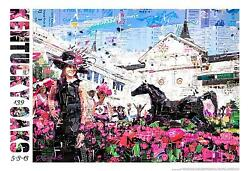 2013 Official Kentucky Oaks Poster New Free Usa Insured Priority Mail Shipping
