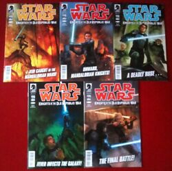 Star Wars Knights Of The Old Republic - War 2012 1-5 - Comic Books - Dhc