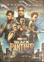 Black Panther DVD Marvel Studios 2018 Brand New Free Shipping
