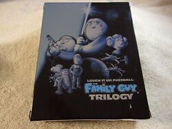 The Family Guy Trilogy Blu-ray Disc, 2010, 3-disc Plays Great