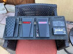Morley Effect Pedals Guitar Pedal Board A/b Vai Bad Horsie Tremonti Wah Switches