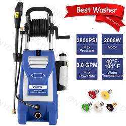 3500psi 2.6gpm Electric High Pressure Washer Home Use 4 Nozzles W Or Wo C 152