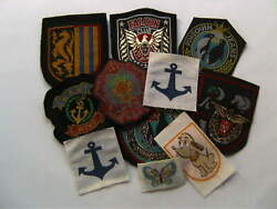 Vintage Clothing Labels Ex Yugoslavia - Lot Of 12 Embroidered Patch