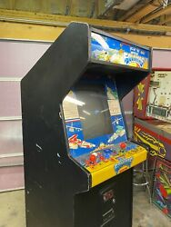 Romstar Sky Soldiers Original Video Arcade Game Fixed And Working Well