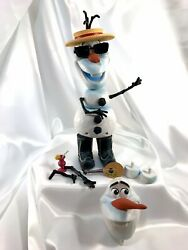Disney Frozen 10.5 Olaf Mix And039em Up 14 Interchangeable Pieces Play Set Toy