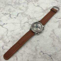 august Raymond Chronograph Moon Phase 78790 Menand039s Watch Shipped From Japan