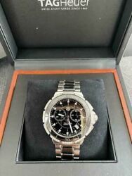 Tag Heuer Stainless Steel Mens Analog Wristwatch With Box Shipped From Japan