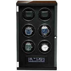 6 Watch Winder For Automatic Watches With Touch Screen Technology By Tempus