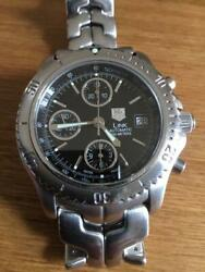 Tag Heuer Link Ct2111 Menand039s Watch With Box Shipped From Japan
