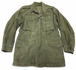 Vintage 1950s Us Army M-1951 M-51 Field Jacket Small