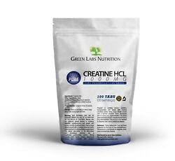 Creatine Hcl 1000mg Tablets, More Energy Better Regeneration, Pure Muscle Growth