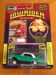 Revell Lowrider And03964 Chevy Impala Green Positional Axles Very Clean M- Nm