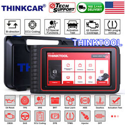 Thinktool Obd2 Scanner Auto Diagnostic Tool Car Code Reader All System Immo Tpms