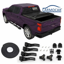 For 2015-2019 Chevy/gmc Colorado/canyon 5and039bed Truck Hard Tri-fold Tonneau Cover