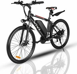 Vivi 26 350w Electric Bike Mountain Bicycle Ebike Shimano 21speed 36v C 102