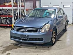 2006 Infiniti G35 Oem Transmission Assembly With 66,325 Miles V6 3.5l Automatic