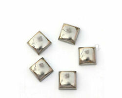 Natural Golden Pyrite Square Cabochon Loose Gemstones Size 21mm To 25mm