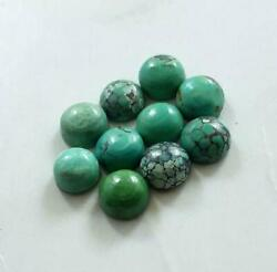 Aaa Quality Natural Loose Gemstone Tibetan Turquoise Round Cabochon 14x14mm