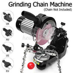 3600rpm Electric Chainsaw Chain Grinder Sharpener Comes With Wheels Tools H 3