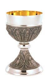 Priest Chalice Cup Ordination Gift Church Wine Blood Of Christ 24k Gold Goblet
