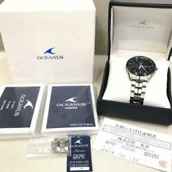 Casio Oceanus Ocw-s3001-1ajf Multi Band Menand039s Analog Watch Made In Japan
