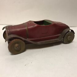 Vintage Republic Dayton Pressed Steel Coupe Toy Car Convertible Nice